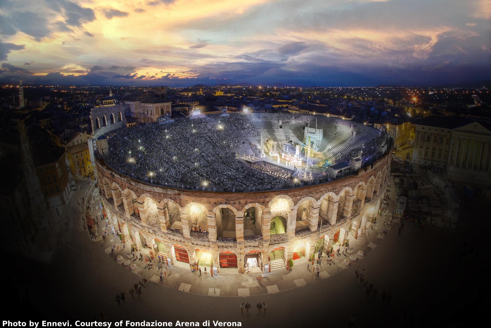 Arena di Verona 2021 - Booking Evento Italiano